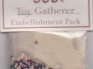 The Toy Gatherer Pattern and Embellishments by Shepherds Bush