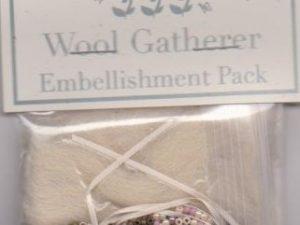 The Wool Gatherer Pattern and Embellishment Pack by Shepherds Bush