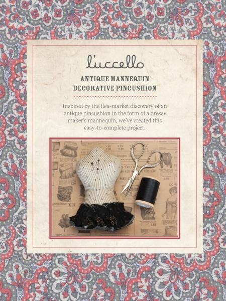 Antique Mannequin Decorative Pincushion by l'uccello