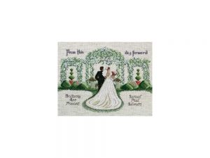 From This Day Forward Cross Stitch Kit by Janlynn 54-0074