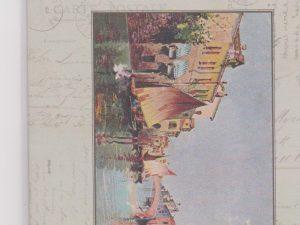 Vintage Postcard Scented Sachet Pattern by l'uccello - Venice