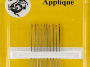 Gold n Glide Applique Needles Size 11