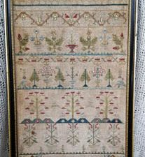 Ann Wright 1726 Sampler Cross Stitch pattern by Samplers Not Forgotten