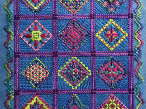 Razzamatazz by Needle Delights Originals pattern