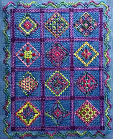 Razzamatazz by Needle Delights Originals pattern