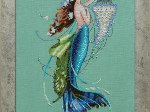 Siren and the Shipwreck Cross Stitch Pattern by Nora Corbett from Mirabilia Designs MD 125