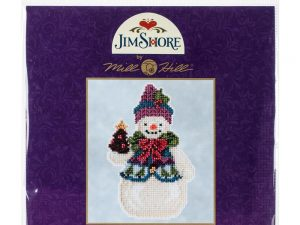 Snowman - Pinecone  Mill Hill Kit by Jim Shore JS20-5102