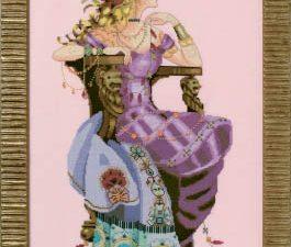Sun Goddess Cross Stitch Pattern by Mirabilia MD155