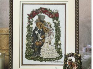 True Love - Grenville and Beatrice by Stoney Creek Cross Stitch Pattern Boyds Bears BB006