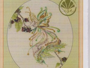 Blackberry Fairy Embroidery pattern by Brenda Ryan for Cottage Garden Threads