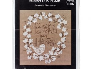 Bless Our Home Cross Stitch Kit by Imaginating I3121