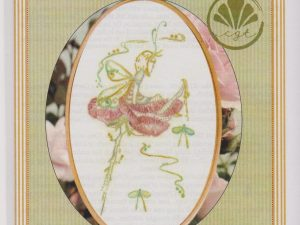 Damsel Fly Fairy Embroidery pattern by Brenda Ryan for Cottage Garden Threads
