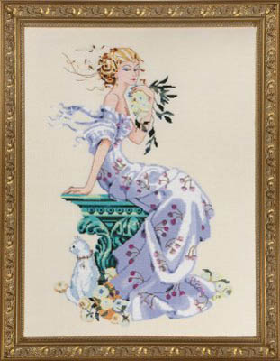 Florentina Cross Stitch Pattern by Mirabilia MD138
