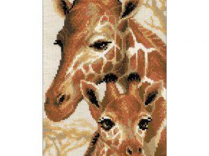 Giraffes Cross Stitch Kit by Riolis R1697
