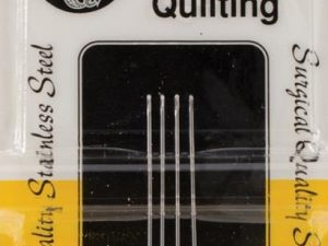 Quilting Needles Stainless Steel Size 10 by John James