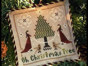 Sampler Tree - Oh Christmas Tree Cross Stitch Pattern by Little House Needleworks