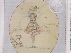 Scottie Embroidery pattern by Brenda Ryan for Cottage Garden Threads