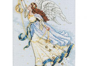 Twilight Angel Cross Stitch Kit by Dimensions Gold Collection 6711