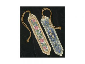 Bookmarks Gold Petite  Cross Stitch Kit by Dimensions 6783