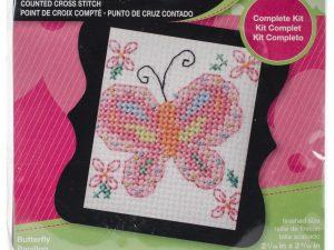 Butterfly Bucilla Beginners Cross Stitch Kit BU46150