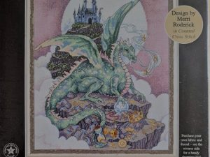 A Mythical Dragon Chart & Charms designed by Merri Roderick for Dimensions 72499