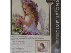 Passion Flower Angel Dimensions Counted Cross Stitch Kit DIM35229