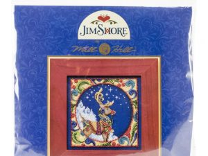 Jim Shore Reindeer Cross Stitch Kit Mill Hill MHJS30-4101