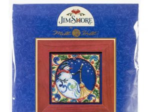 Jim Shore Snowman Cross Stitch Kit Mill Hill MHJS30-4103