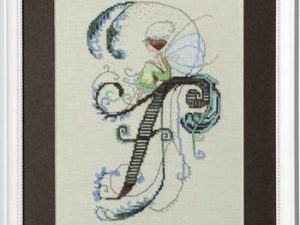 "Letter ""F"" Fairies by Norah Corbet Cross Stitch Pattern"
