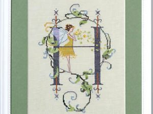 "Letter ""H"" Fairies by Norah Corbett Cross Stitch Pattern"