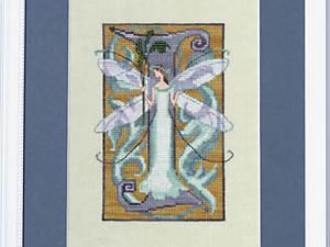 "Letter ""I"" Fairies by Norah Corbett Cross Stitch Pattern"