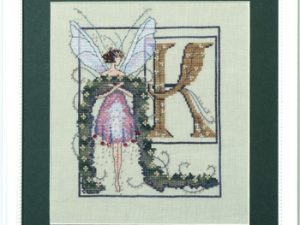 "Letter ""K"" Fairies by Norah Corbett Cross Stitch Pattern"