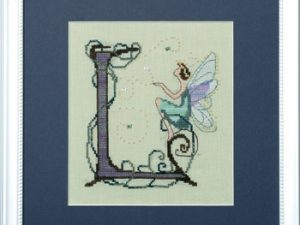 "Letter ""L"" Fairies by Norah Corbett Cross Stitch Pattern"
