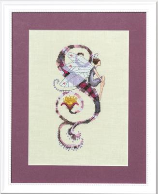 "Letter ""S"" Fairies by Norah Corbett Cross Stitch Pattern"