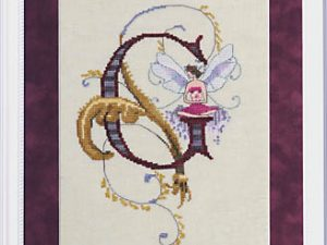 "Letter ""G"" Fairies by Norah Corbett Cross Stitch Pattern"