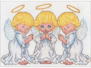 Little Angels Dimensions Cross Stitch Kit 70-65167