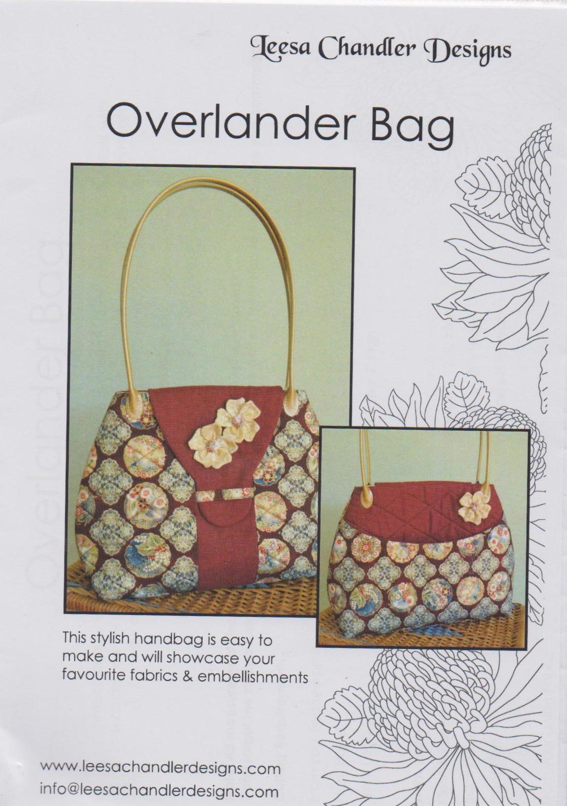 Overlander Bag pattern by Leesa Chandler Designs 116RK