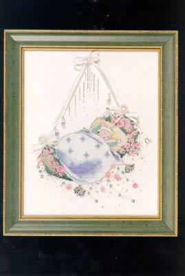 Rosebud Lullaby Mirabilia MLS 5 Cross Stitch Pattern