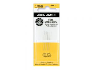 Beading Embroidery Hand Needles Size 12 - John James