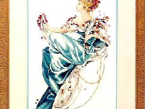 Summer Queen Mirabilia MD 22 Cross Stitch Pattern