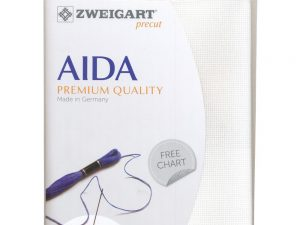 101 Antique White Zweigart Aida 14 Count Pack 19 x 21 inch piece