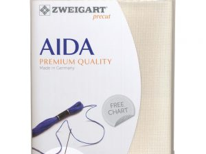 264 Cream Zweigart Aida 14 Count Pack 19 x 21 inch piece