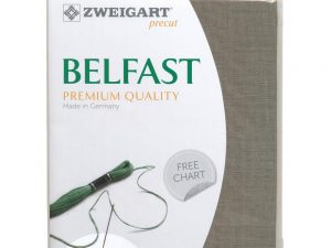 32ct Belfast Linen Raw 48 x 68 cm Pack by Zweigart Z3609/53