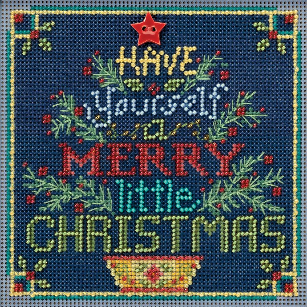 Have Yourself a Merry Little Christmas Cross Stitch Kit MH 141831