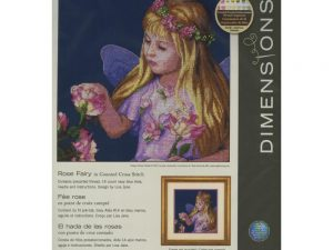 Rose Fairy Cross Stitch Kit from Dimensions 70-35297