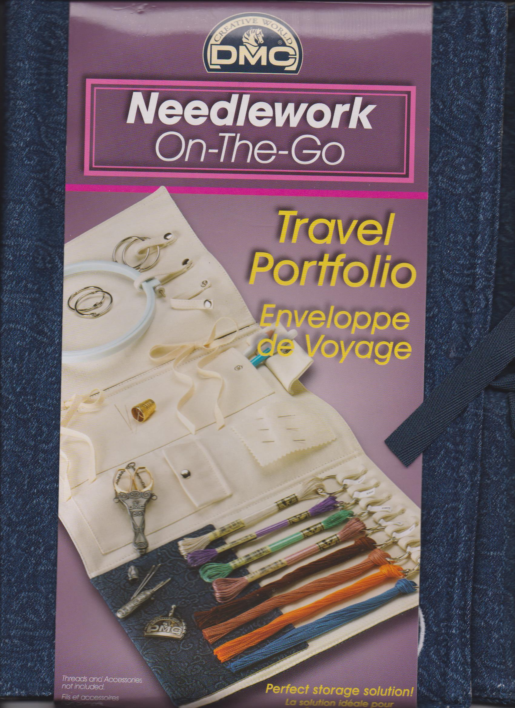 DMC Needlework Travel Portfolio Art U1545