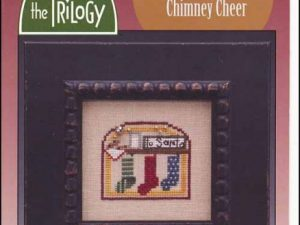 Domes of Yule- Chimney Cheer Christmas Cross Stitch Pattern by The Trilogy