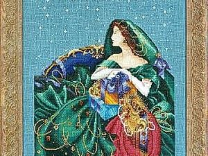 Christmas Elegance Cross Stitch Pattern from Mirabilia MD 6