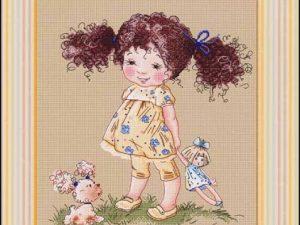 Curls Pattern by Lena Lawson Needlearts C6676