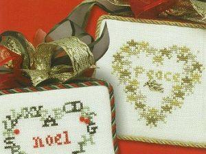Merry Miniatures Cross Stitch Pattern by JBW 126